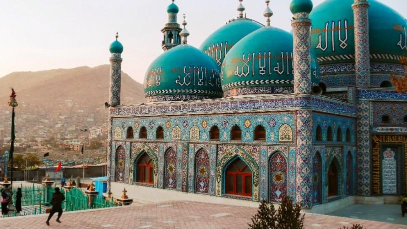 Hoogtepunten - Afghanistan - Kabul - Karte Sakhi Shrine