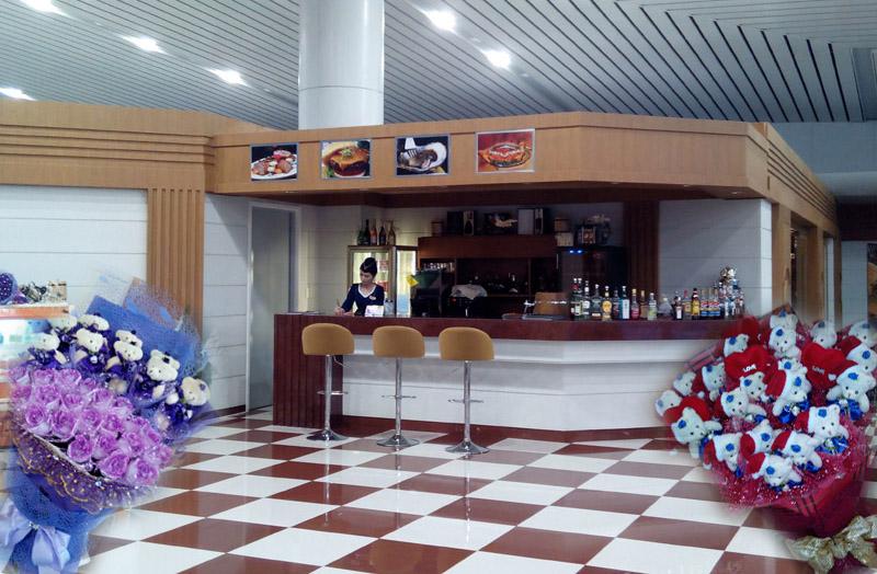 Pyongyang Airport Cafe