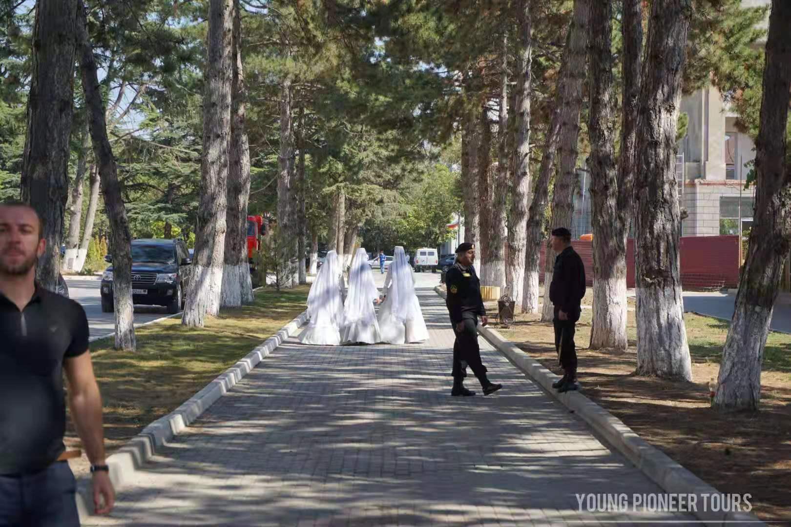 Brides in South Ossetia
