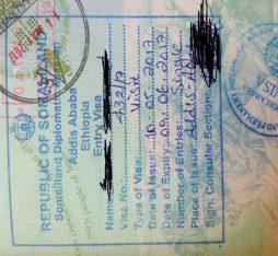 get visa for Somaliland