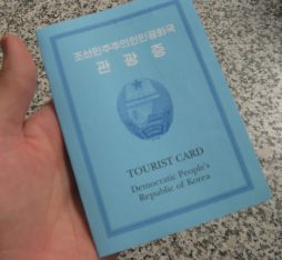 A North Korean visa