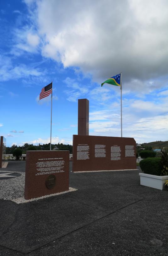 American Memorial in Solomon Island