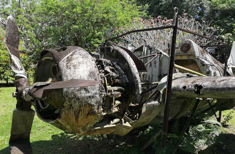 Vilu Museum aircraft wrecks in Solomon Island