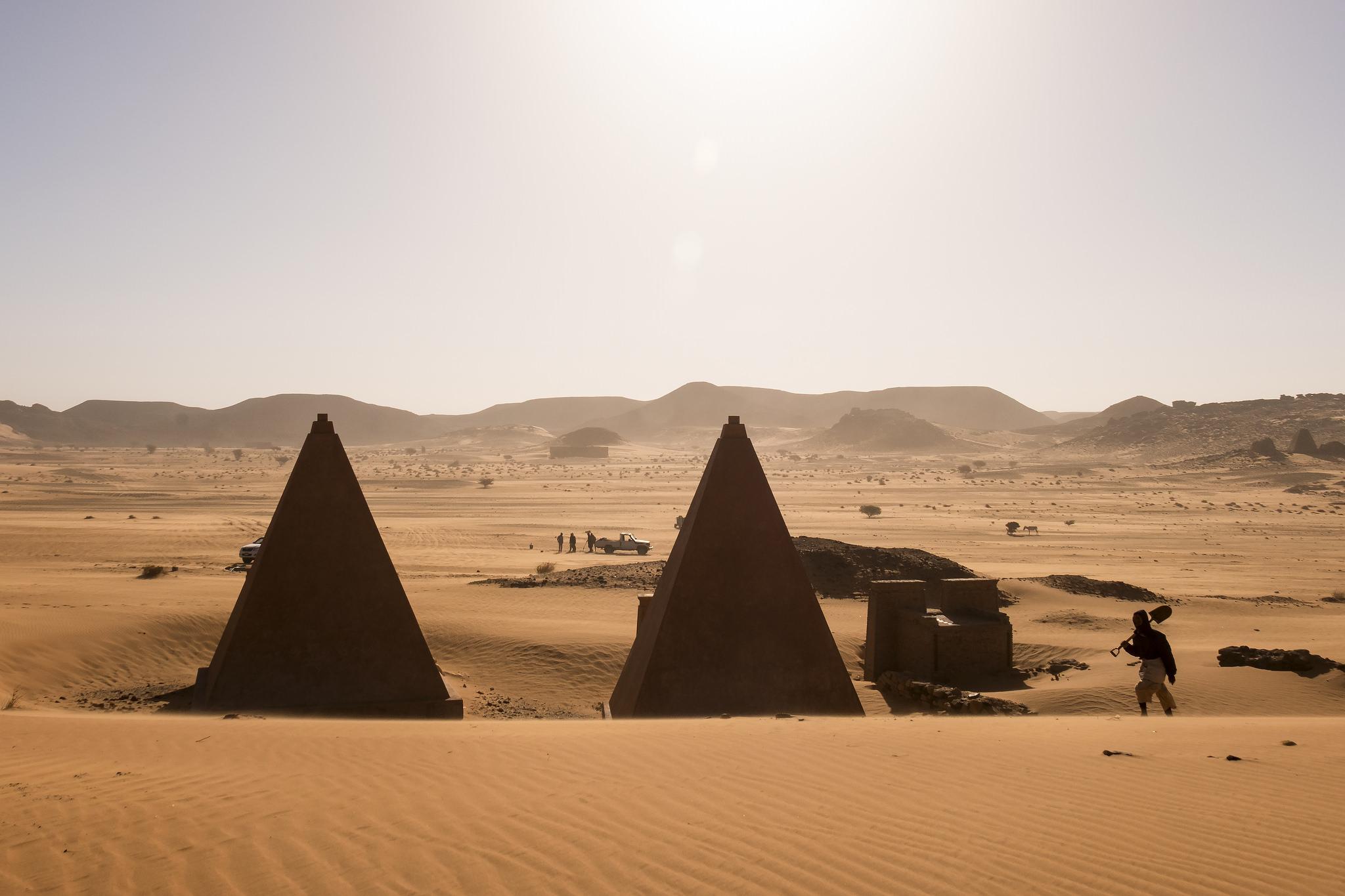 Pyramids in Bir Tawil