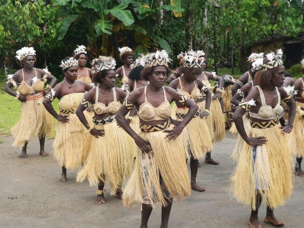 Traditional Bougainvillian dance