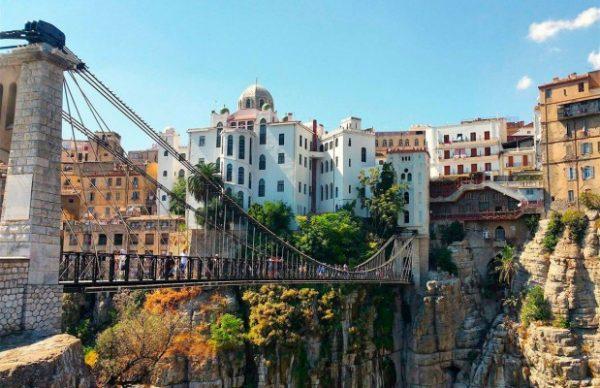 The hanging bridges of Constantine, Algeria