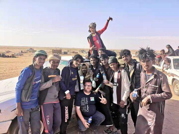 Rushaida workers in Bir Tawil