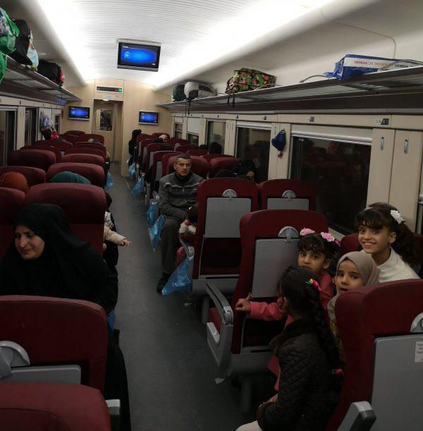 Basra to Baghdad Train Service