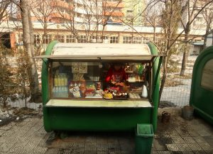 Pyongyang street food