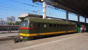 Visit North Korea -- by train