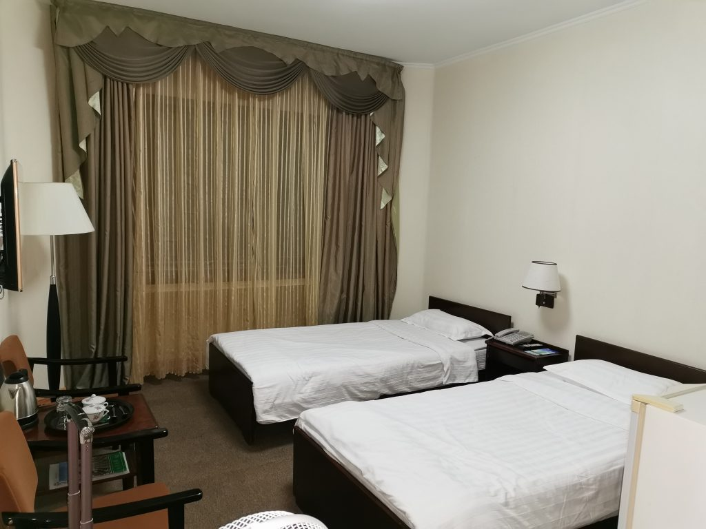 Room of the Chongnyon Hotel, the Youth Hotel