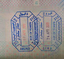 visa in Socotra
