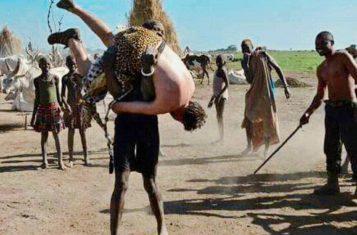 south sudan wrestling