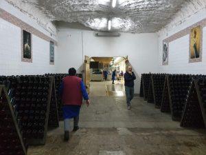 Wine cellars in Moldova