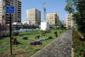 Kim Il Sung Park in Damascus, Syria