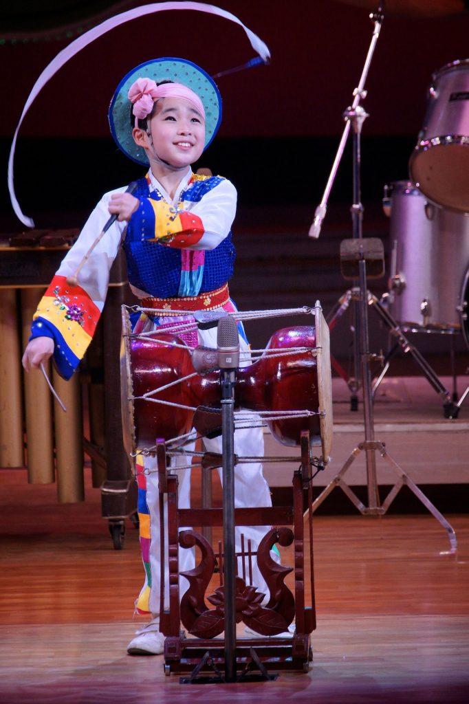 A North Korean drummer kid