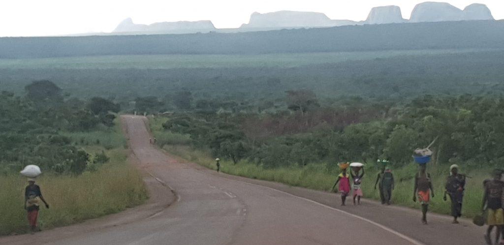 Roads of Angola