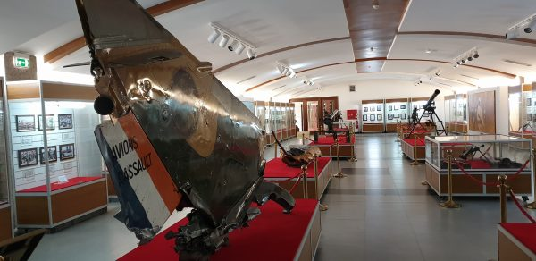 The inside of the National Museum of Angola
