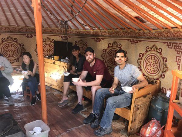 Inside a Mongolian Ger