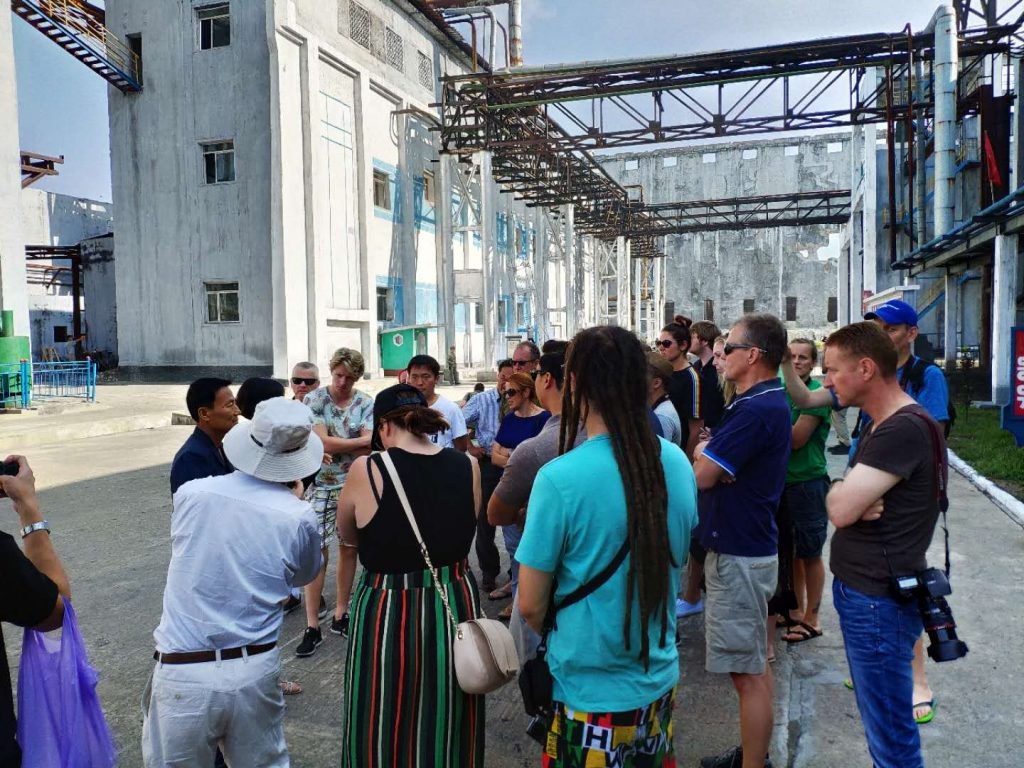 A visit to the Hamhung Fertilizer Factory