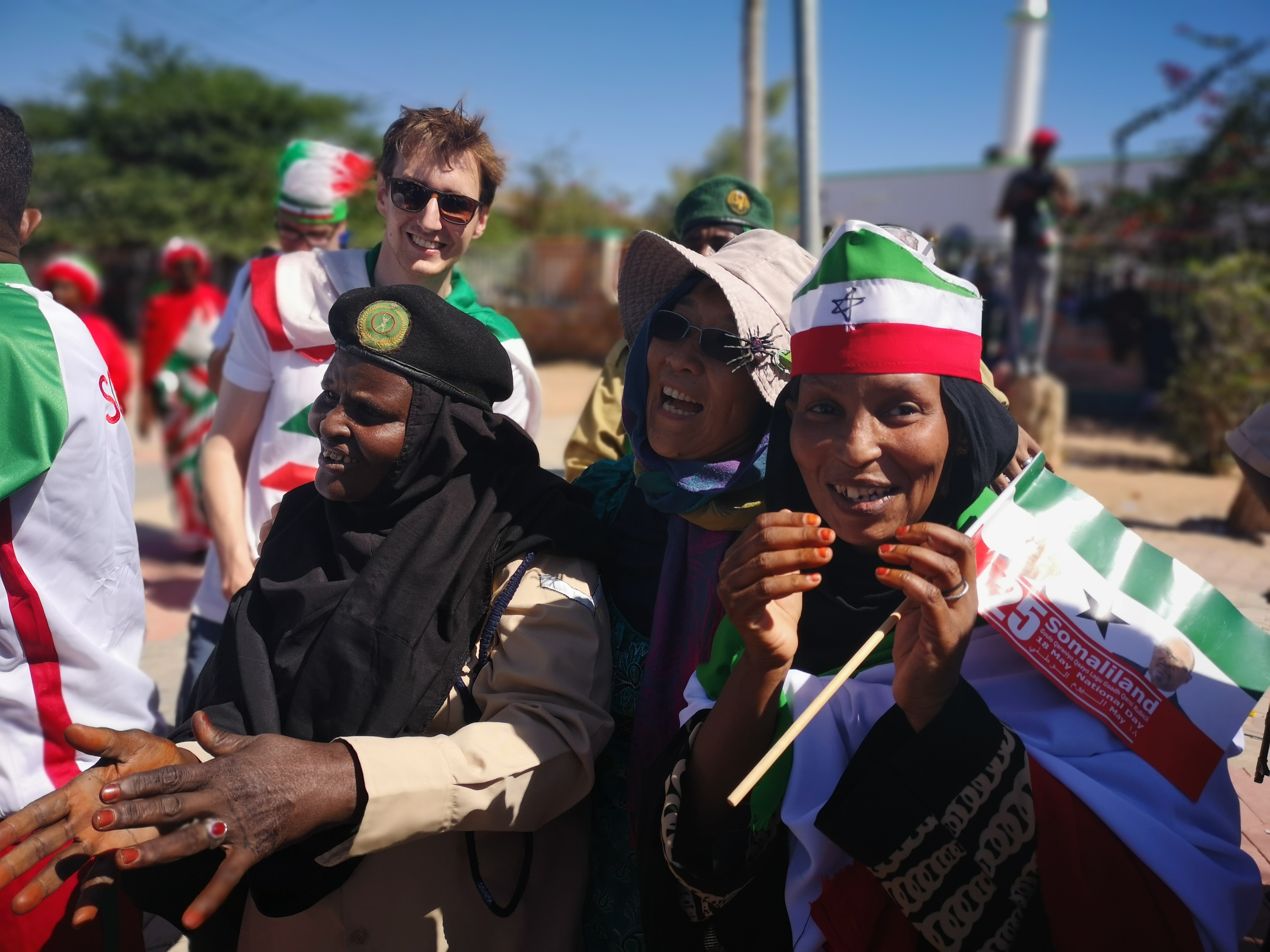 YPT mingling with Somalilanders