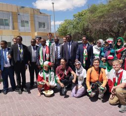 YPT with dignitaries during Somaliland Independence Day