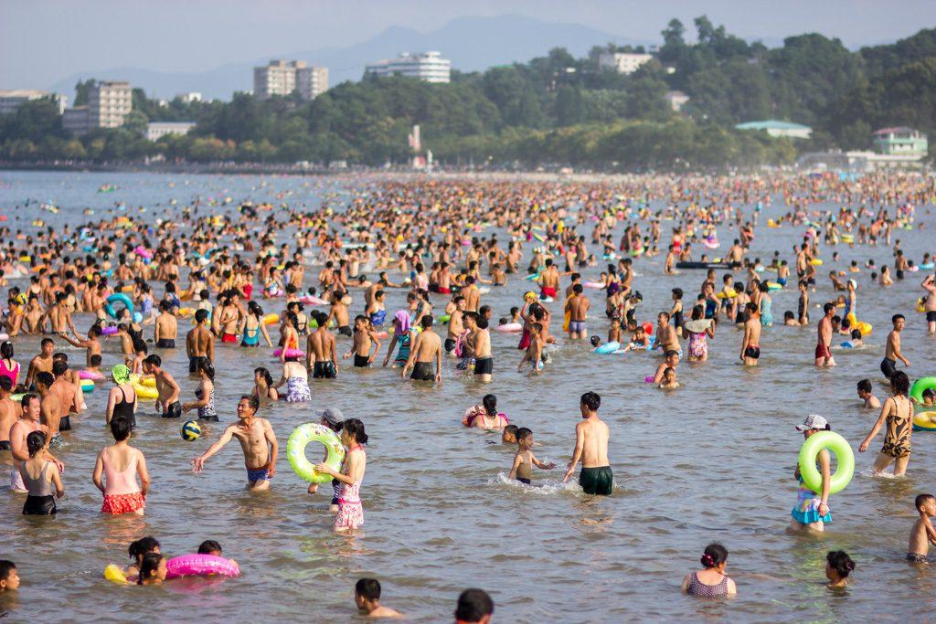 North Korean Beach Resort - Wonsan