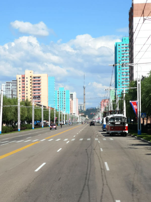 streets of Pyongyang what is the capital of north korea