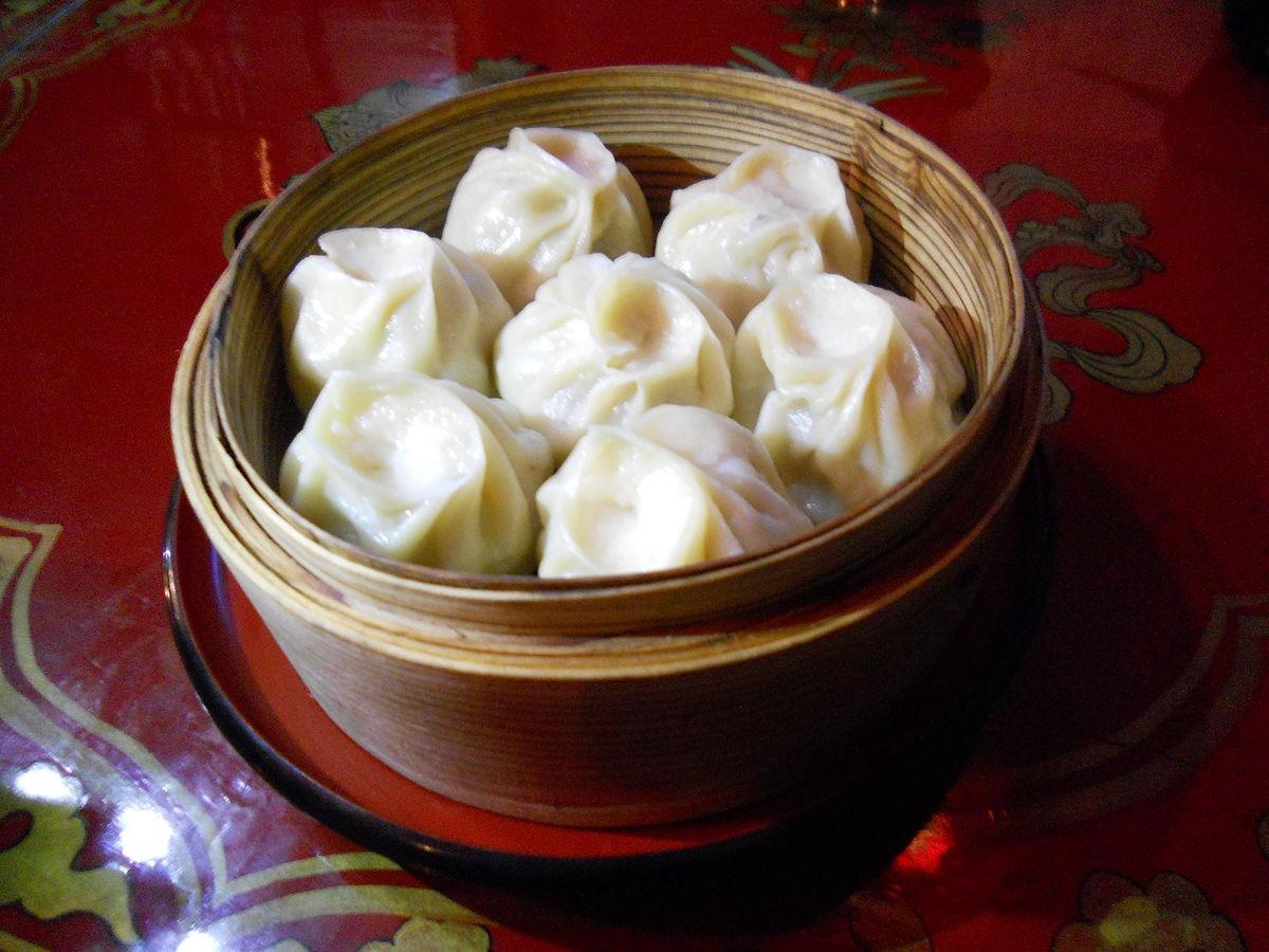 Buuz: a fine example of Mongolian cuisine.