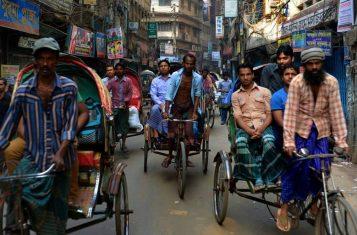 The hectic beat of Dhaka