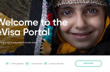 the main page of the saudi e-visa website