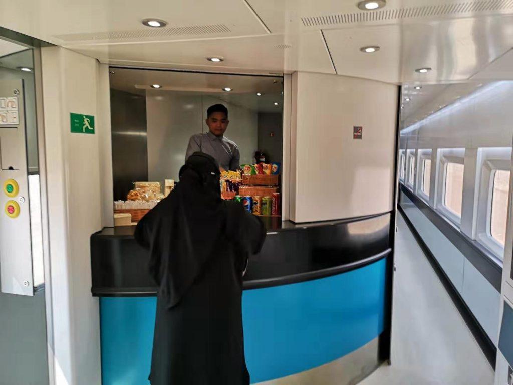 Taking the train in Saudi Arabia
