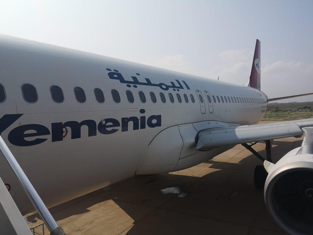 The Yemenia Yemen Airlines Airbus 320