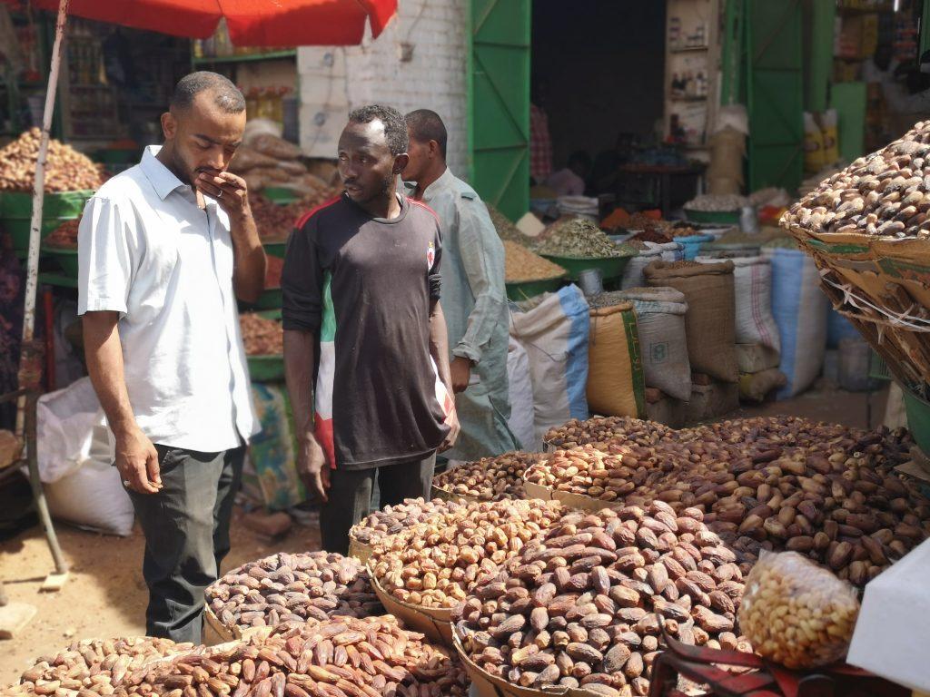 The Market of Khartoum in Sudan