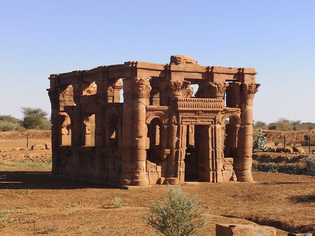 The roman kiosk of Mussawart, Sudan