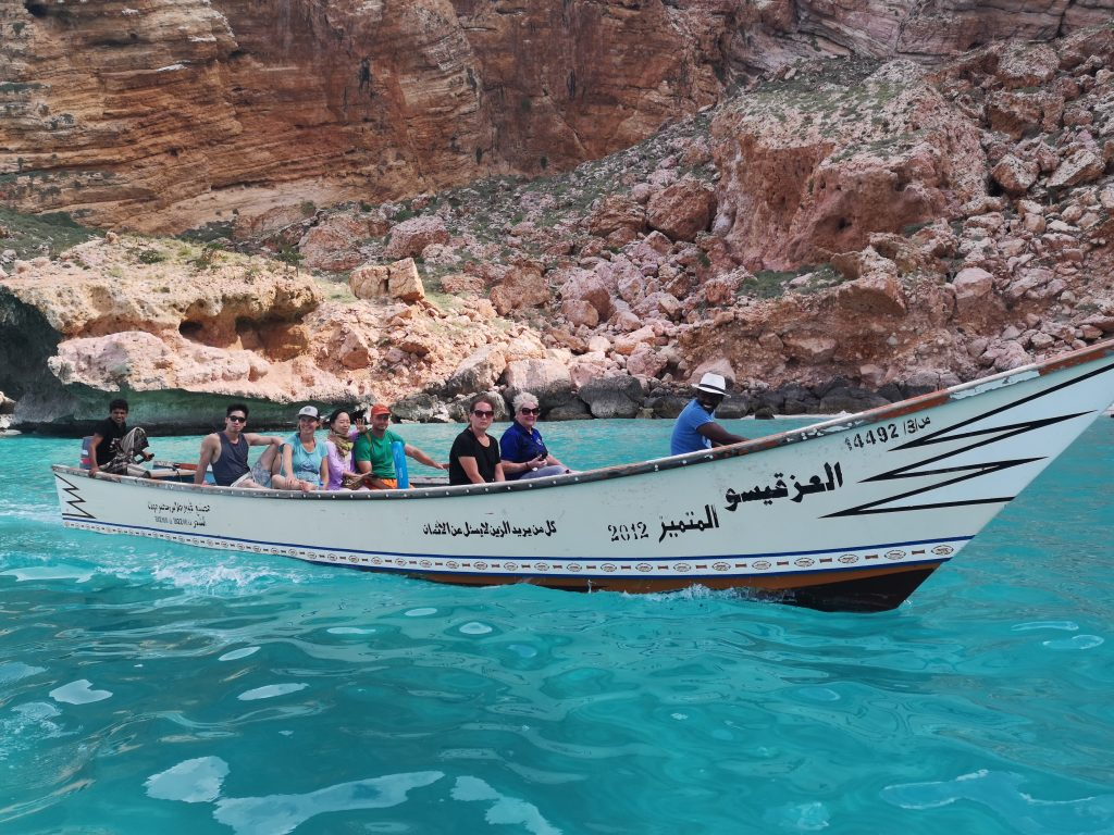 A cruise from Shuab in Socotra, Yemen