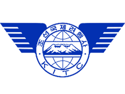 The logo of KITC, the biggest and most important North Korean tourism agency.