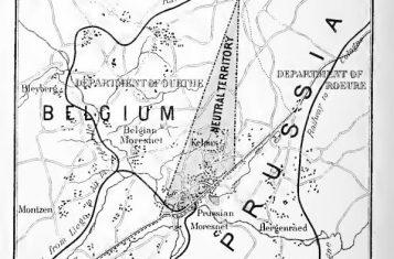 Map of Neutral Moresnet