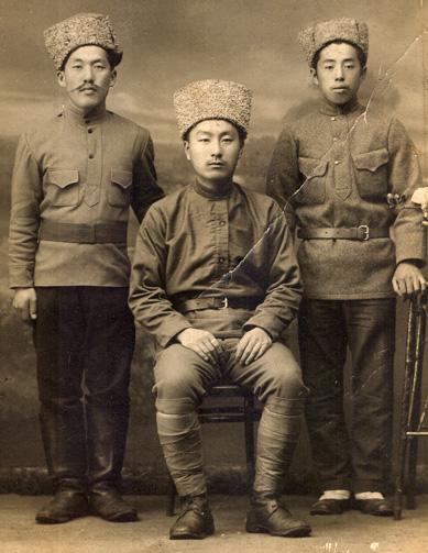 Ethnic Korean soldiers in Russia's Far East, c.1930