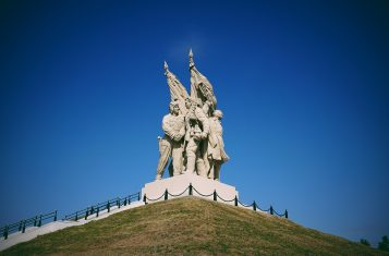 A monument in Chechnya