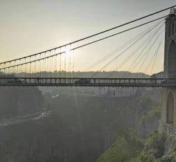 A bridge over Constatine in Algeria
