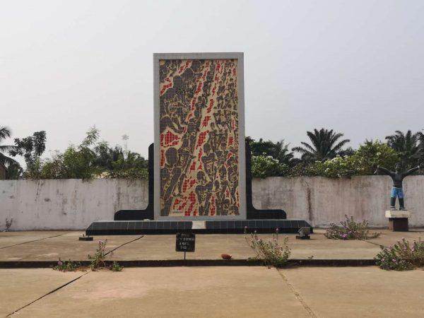 Mass grave of slave trade of Benin