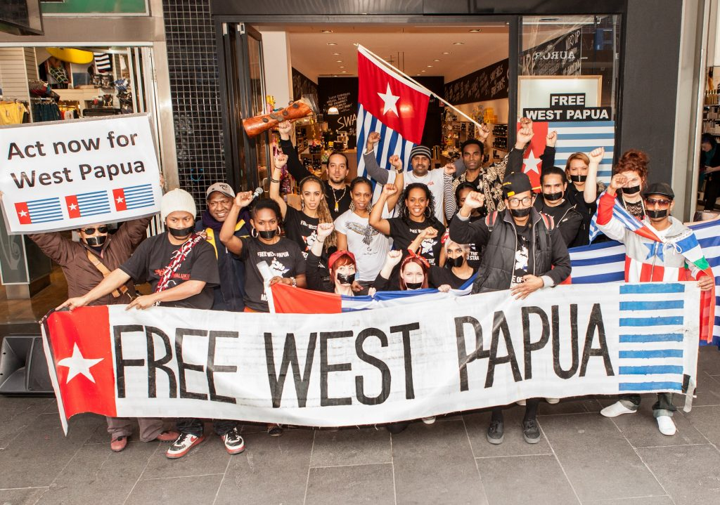 Free West Papua protest