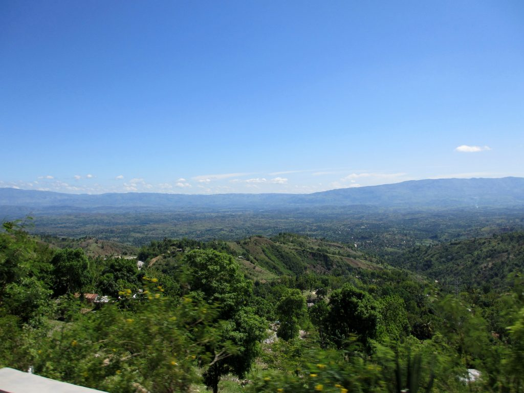 Landscape of modern Haiti, Saint Dominigue at the time of the Haitian revolution.