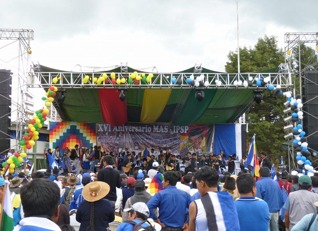 MAS rally in Bolivia
