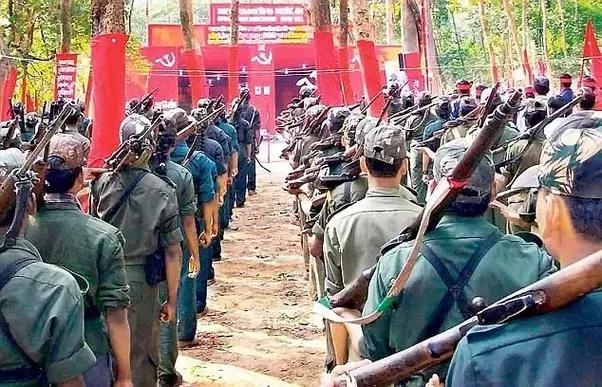 Naxalite guerrillas