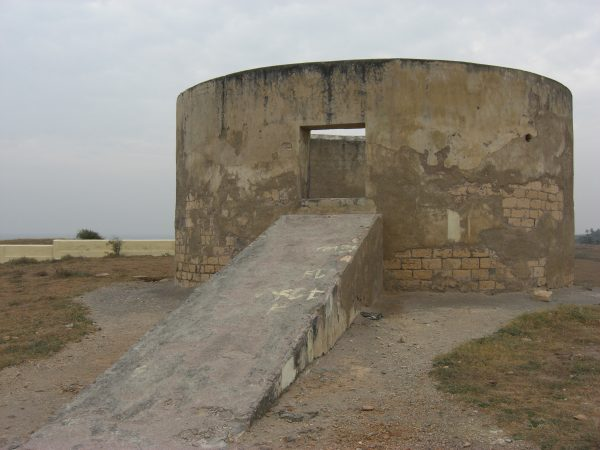 Tower of silence in Iraq
