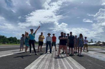 Tuvalu airport runway