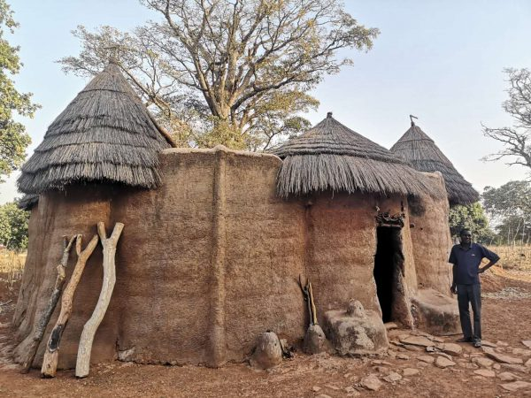 A typical tata fortress house of Benin