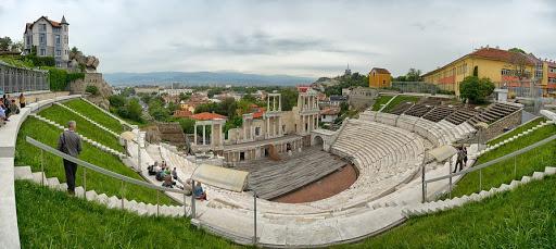 The roman theatre of Plovdiv